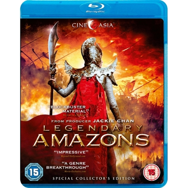 Legendary Amazons Blu-ray