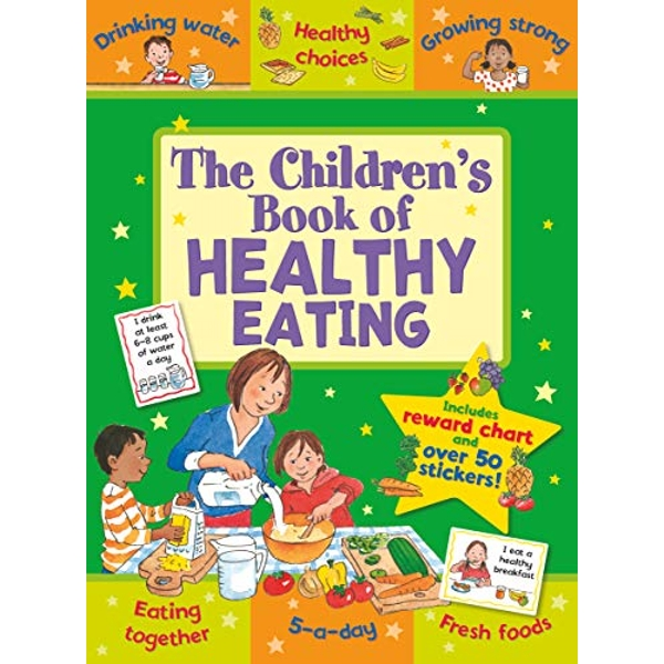 The Children's Book of Healthy Eating by Jo Stimpson (Paperback, 2016)