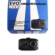Evo Labs C200 1080p Full HD Dashcam With Motion detection Includes Suction Mount
