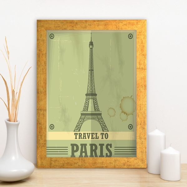 AC1913995676 Multicolor Decorative Framed MDF Painting