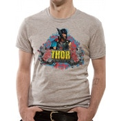 Thor Ragnarok - Rock Men's Small T-Shirt - Grey
