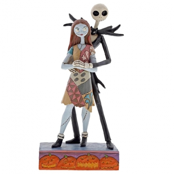 Fated Romance (Jack & Sally) Disney Traditions Figurine