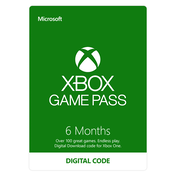 Xbox Game Pass 6 Month Xbox One Digital Download