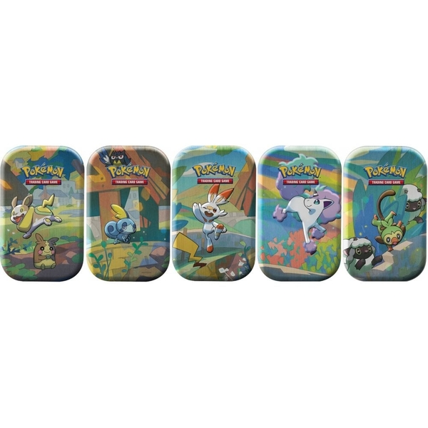 Pokemon TCG  Galar Pals Mini Tin - 1 at Random