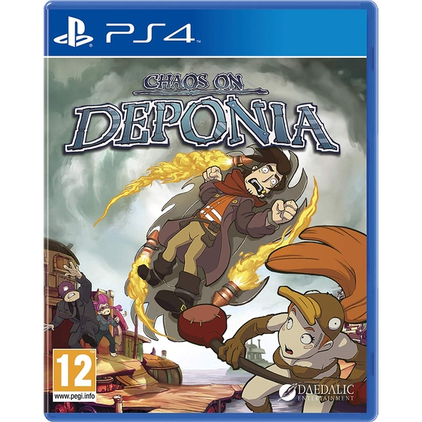 Chaos on Deponia PS4 Game