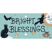 Bright Blessings Pack Of 12