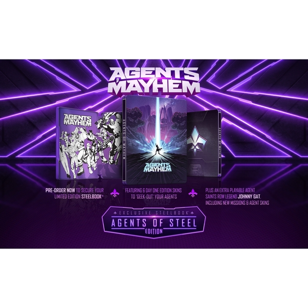 Agents Of Mayhem Day One Steelbook Edition PS4 Game - Image 7