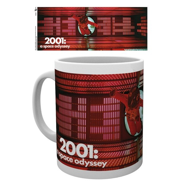 2001 A Space Odyssey Red Astronaut Mug