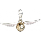Sterling Silver Golden Snitch Clip on Charm