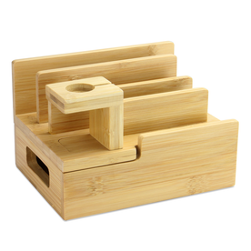 Bamboo Charging Station | M&W