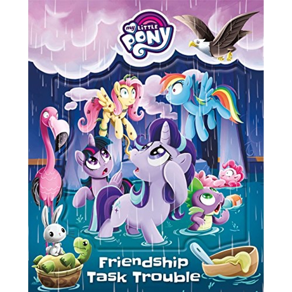My Little Pony Friendship Task Trouble  Hardback 2018