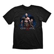 God of War - Kratos & Atreus Men's Large T-Shirt - Black