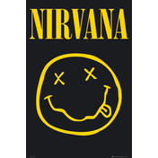 Nirvana Smiley Maxi Poster