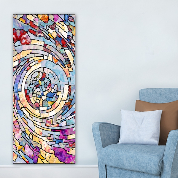 DKY6086781742_50120 Multicolor Decorative Canvas Painting