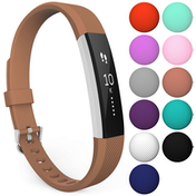 Yousave Fitbit Alta / Alta HR Strap Single Large - Brown