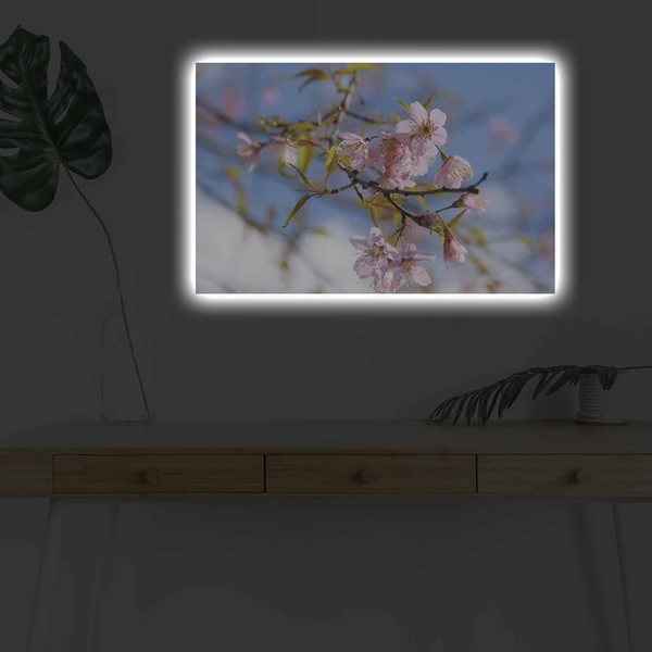 4570DHDACT-032 Multicolor Decorative Led Lighted Canvas Painting