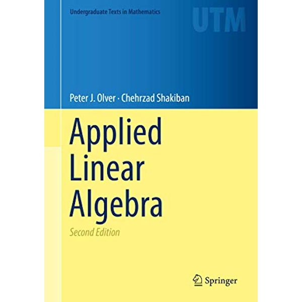Applied Linear Algebra  Hardback 2018