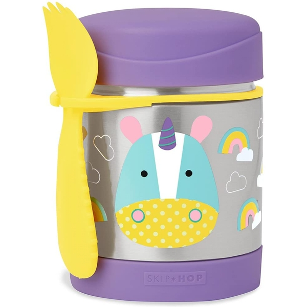 SkipHop Zoo Insulated Food Jar -  Eureka Unicorn