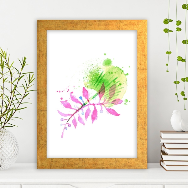 AC2564586705 Multicolor Decorative Framed MDF Painting