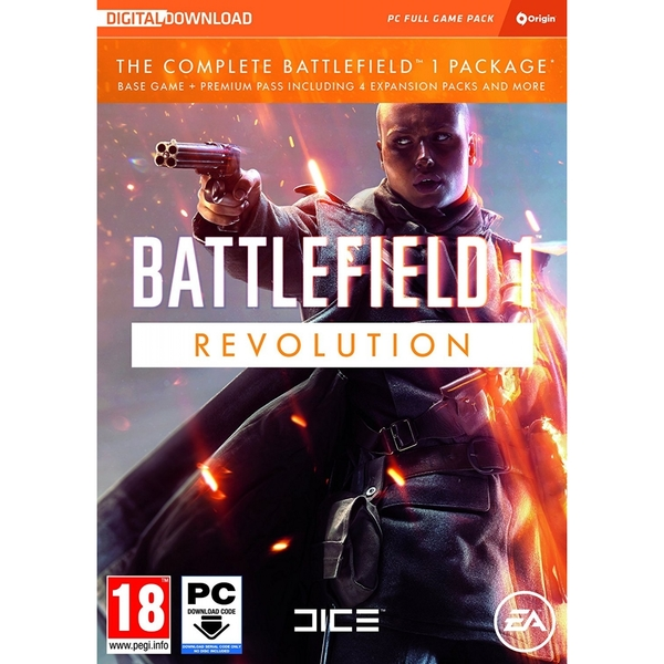Battlefield 1 Revolution Game PC