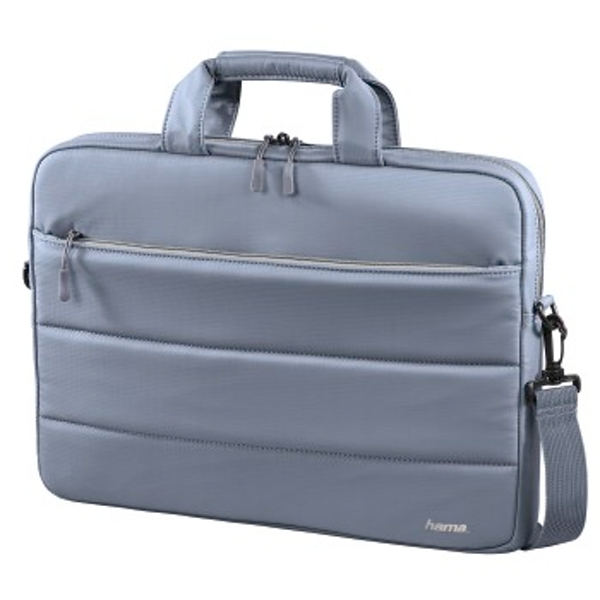 "Hama Toronto 13.3"" Briefcase Blue, Grey - Notebook Cases (Briefcase, 33.8 cm (13.3""), Shoulder strap, 351 g, Blue, Grey)"