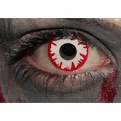 White Demon 3 Month Halloween Coloured Contact Lenses (MesmerEyez XtremeEyez)