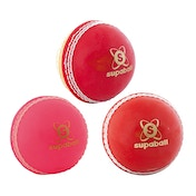Readers Supaball Training Cricket Ball Red Youths