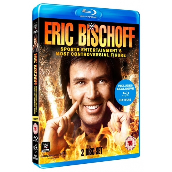 WWE Eric Bischoff Sports Entertainment's Most Controversial Figure Blu-ray