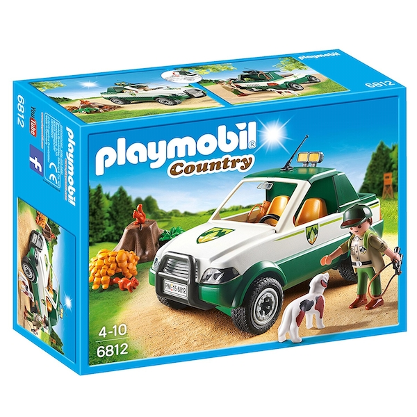Playmobil Country Forest Pick Up Truck