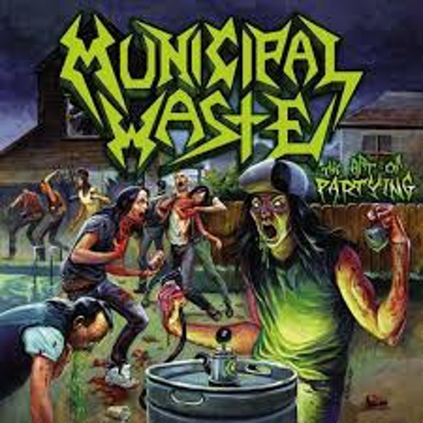 Municipal Waste – The Art Of Partying Vinyl