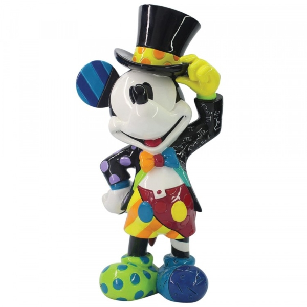 Mickey Mouse with Top Hat Disney Britto Figurine - Image 1