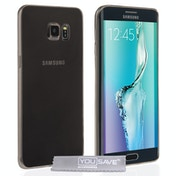 YouSave Accessories Samsung Galaxy S6 Edge Plus Ultra Thin Gel Case - Smoke Black