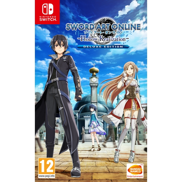 Sword Art Online Hollow Realization Deluxe Edition Nintendo Switch Game - Image 1