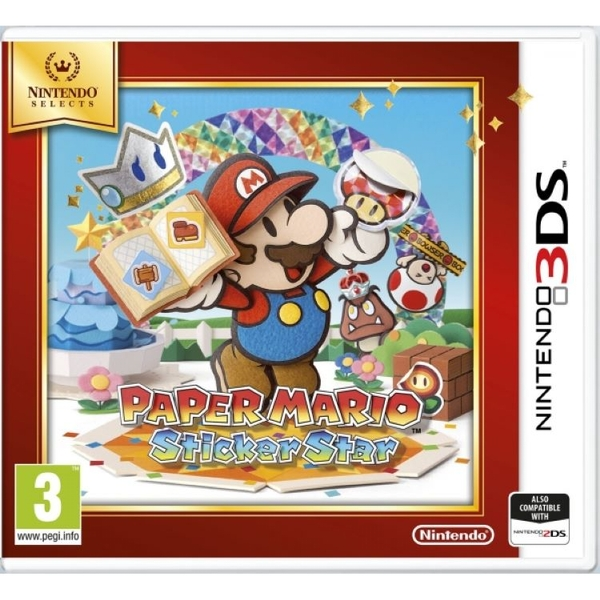 Paper Mario Sticker Star Game 3DS (Selects) - Image 1