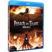 Attack on Titan Part 1 Episodes 1-13 Blu-ray