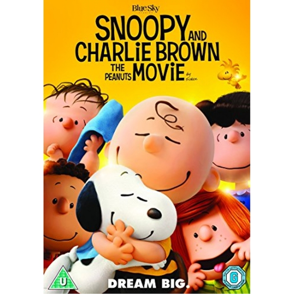 Snoopy And Charlie Brown The Peanuts Movie DVD