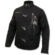 Dead Kiss Men's Large Orient Goth Jacket - Black