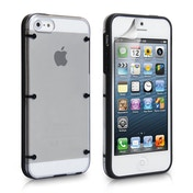 YouSave Accessories iPhone 5 / 5s 6 Dot Hard Case - Black