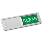 Dishwasher Clean / Dirty Sign | M&W Silver New