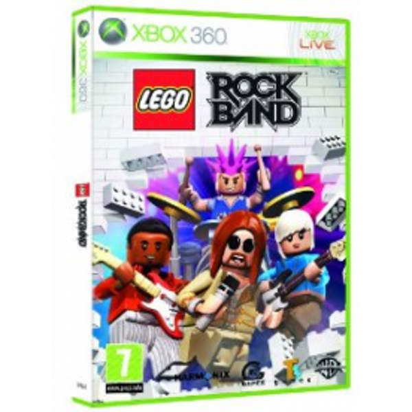 Lego Rock Band Game Xbox 360