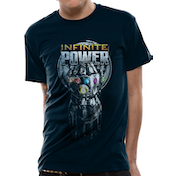 The Avengers Infinity War - Infinite Power Glove Men's XX-Large T-Shirt - Black