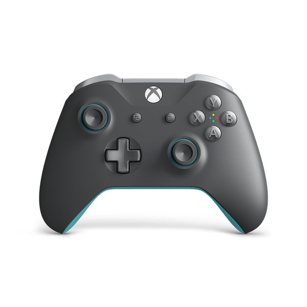 Grey and Blue Edition Wireless Controller Xbox One