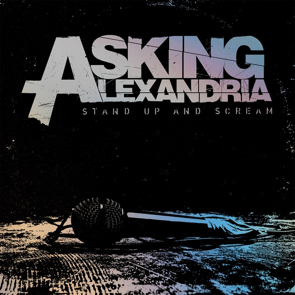 Asking Alexandria - Stand Up And Scream 10th Anniversary Silver With Black Splatter Vinyl