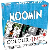 Colour in Moomin 1000 Piece Jigsaw Puzzle