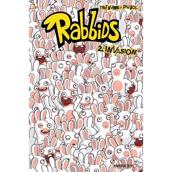 Rabbids #2: Invasion! Hardcover