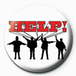 The Beatles - Help! Badge - Image 2