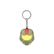 Halo Wars 2 Mask Pendant Rubber Keychain
