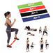 Resistance Loop Bands, Yoga, Pilates & Rehabilitation XFit Full Set (6 Pack) - Image 2