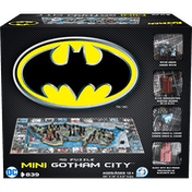 Mini Batman Gotham City - 4D Cityscape Jigsaw Puzzle