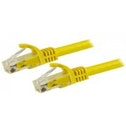 StarTech N6PATC5MYL 5m Cat6 U/UTP (UTP) Yellow networking cable